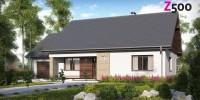 Проект загородного дома Z131