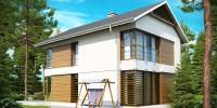 Проект загородного дома Z155