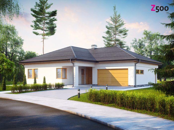 Проект загородного дома Z204