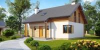 Проект загородного дома Z210