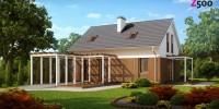 Проект загородного дома Z213