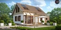 Проект загородного дома Z220
