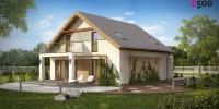 Проект загородного дома Z224
