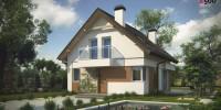 Проект загородного дома Z265
