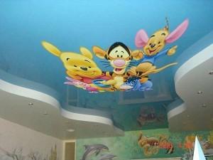 Натяжные потолки в детскую