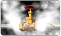 Поддержание температуры трубопроводов, очищаемых паром (обычные и взрывоопасные среды)