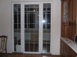 Французские окна ПВХ
