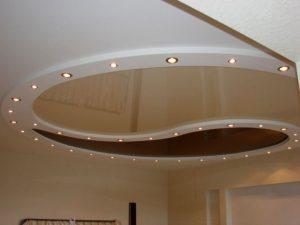 Типы натяжных потолков