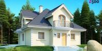 Проект загородного дома Z27