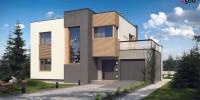 Проект загородного дома ZX59
