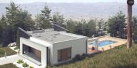 Проект загородного дома Zx106