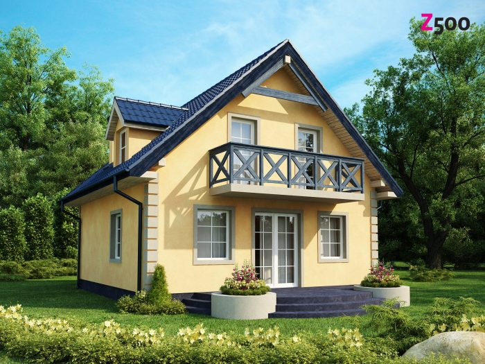 Проект загородного дома Z1