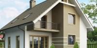 Проект загородного дома Z62