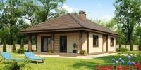 Проект загородного дома Z55