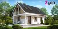 Проект загородного дома Z216