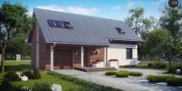 Проект загородного дома Z226
