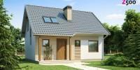 Проект загородного дома Z71