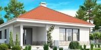 Проект загородного дома Z141