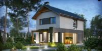 Проект загородного дома Z93
