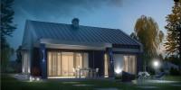 Проект загородного дома Z256