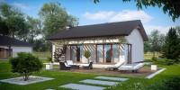 Проект загородного дома Z254