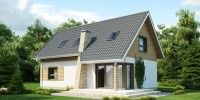 Проект загородного дома Z79