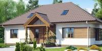 Проект загородного дома Z106