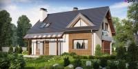 Проект загородного дома Z89