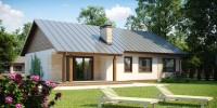Проект загородного дома Z98