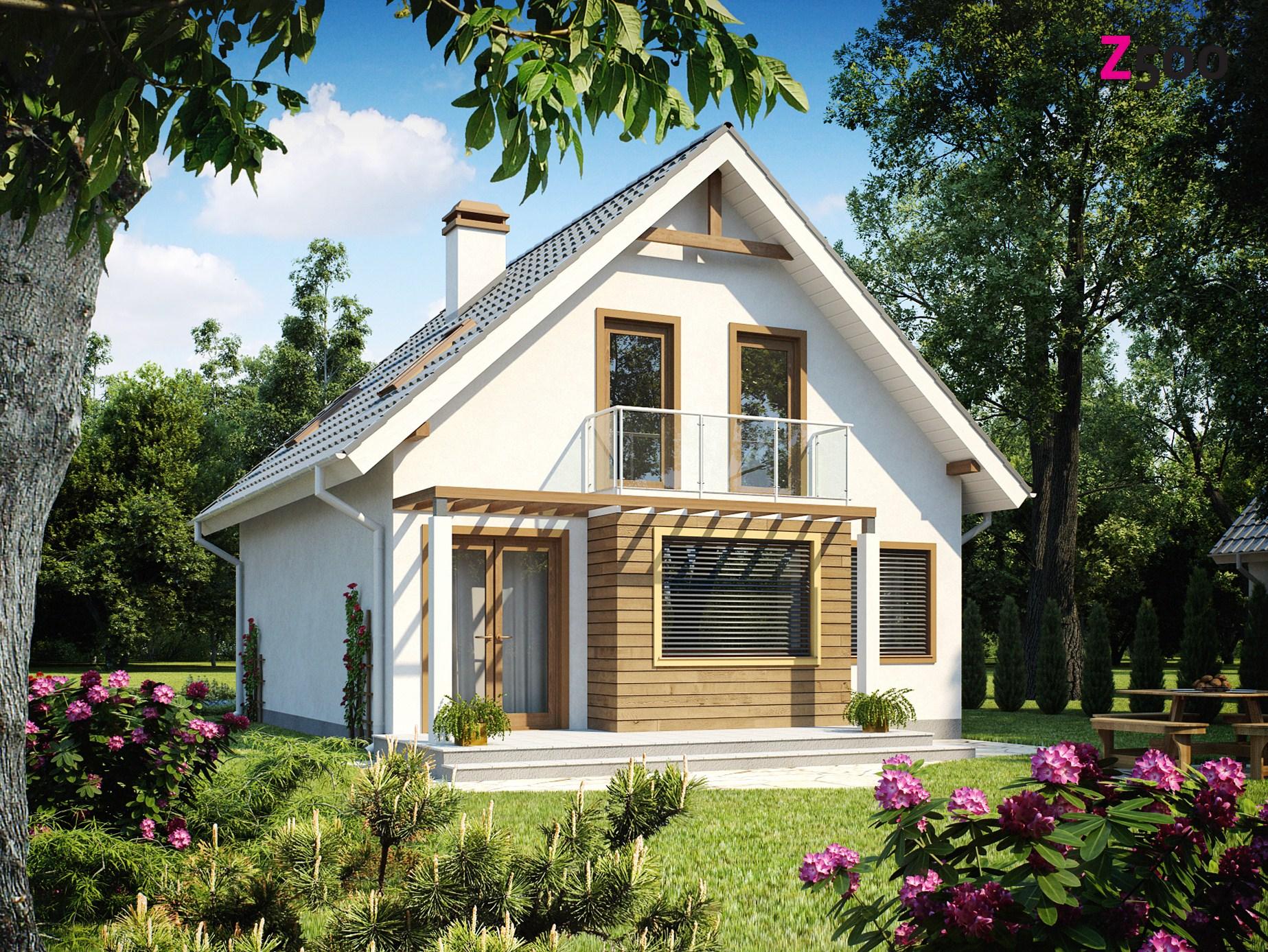 Проект загородного дома Z99