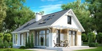 Проект загородного дома Z113