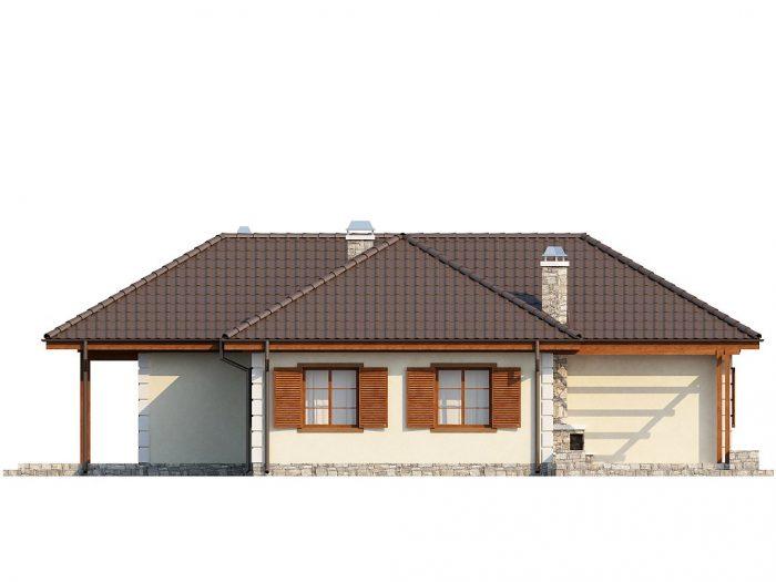 Проект загородного дома Z6