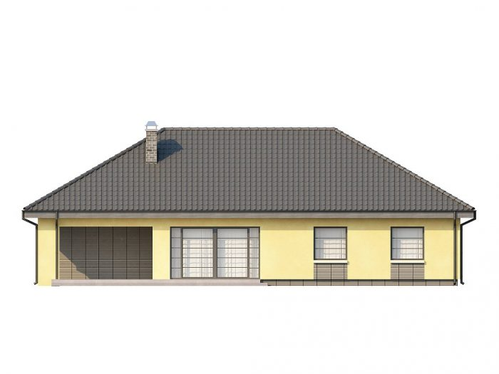 Проект загородного дома Z123