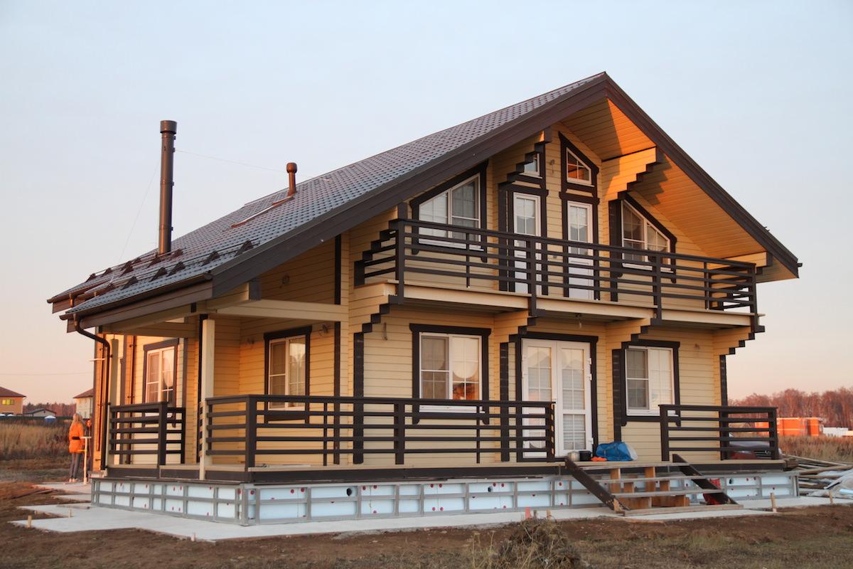 Брус для строительства загородного дома