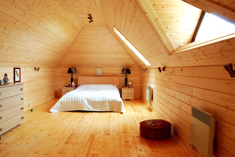 Деревянная вагонка для отделки жилых строений