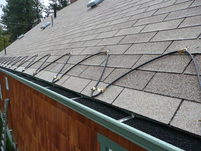Электро обогрев крыши