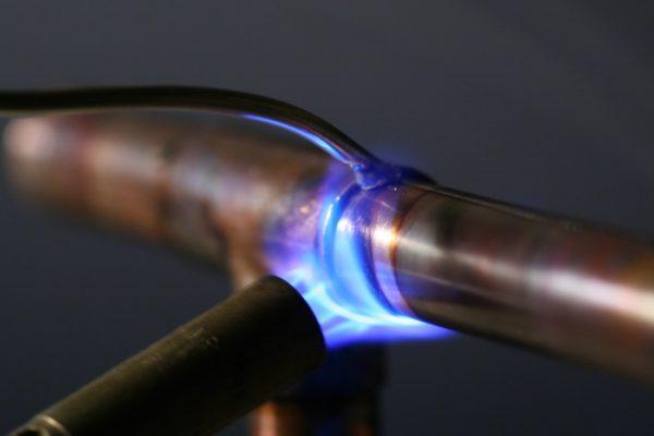 Газовая горелка для пайки медных труб