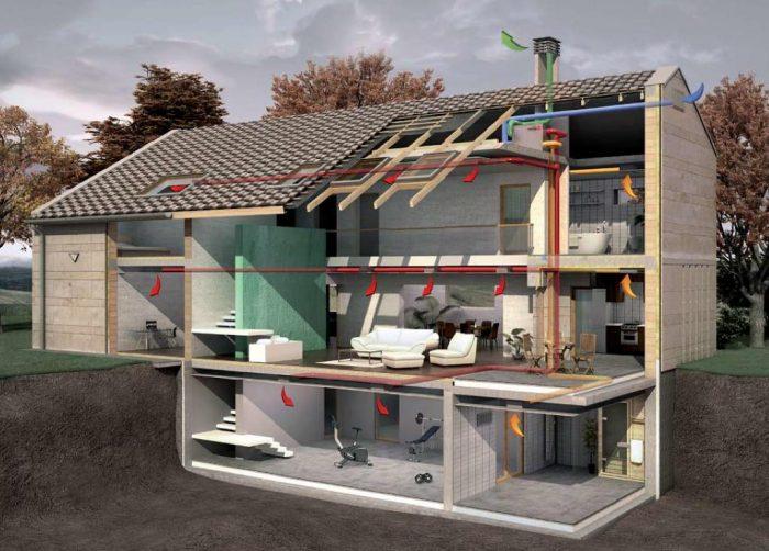 Дом с жилым подвалом
