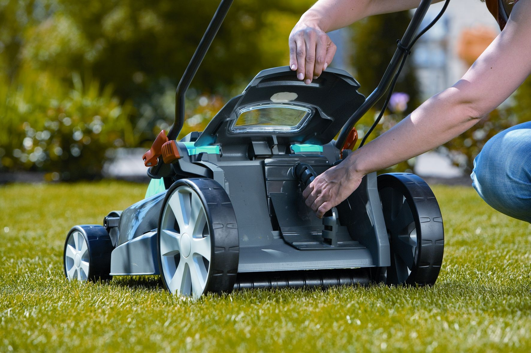Как выбрать качественную газонокосилку