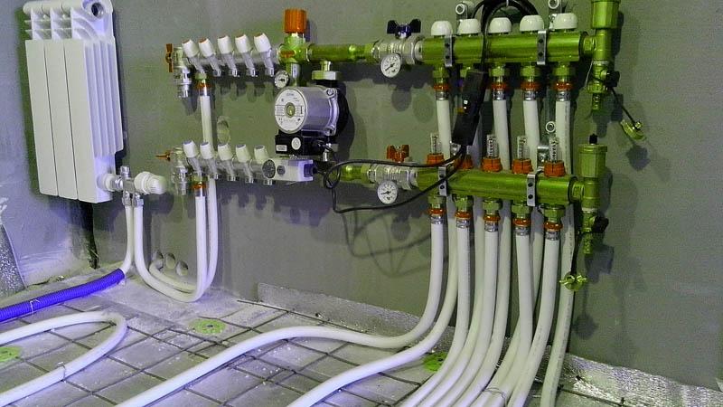 Коллектор в системе отопления