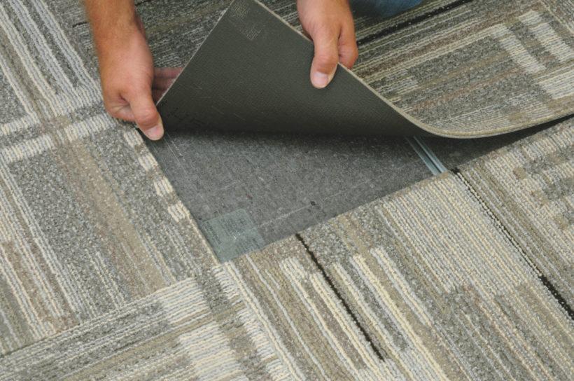 Ковровая плитка для дома