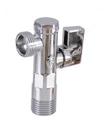 Кран угловой для бытовых приборов Angle valve (U)
