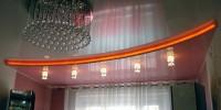 Наша компания выполнит монтаж натяжных потолков в Екатеринбурге