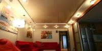 Натяжные потолки – популярное решение при оформлении интерьера