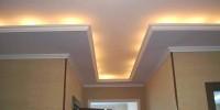 Натяжные потолки скрывают всевозможные дефекты поверхности потолка