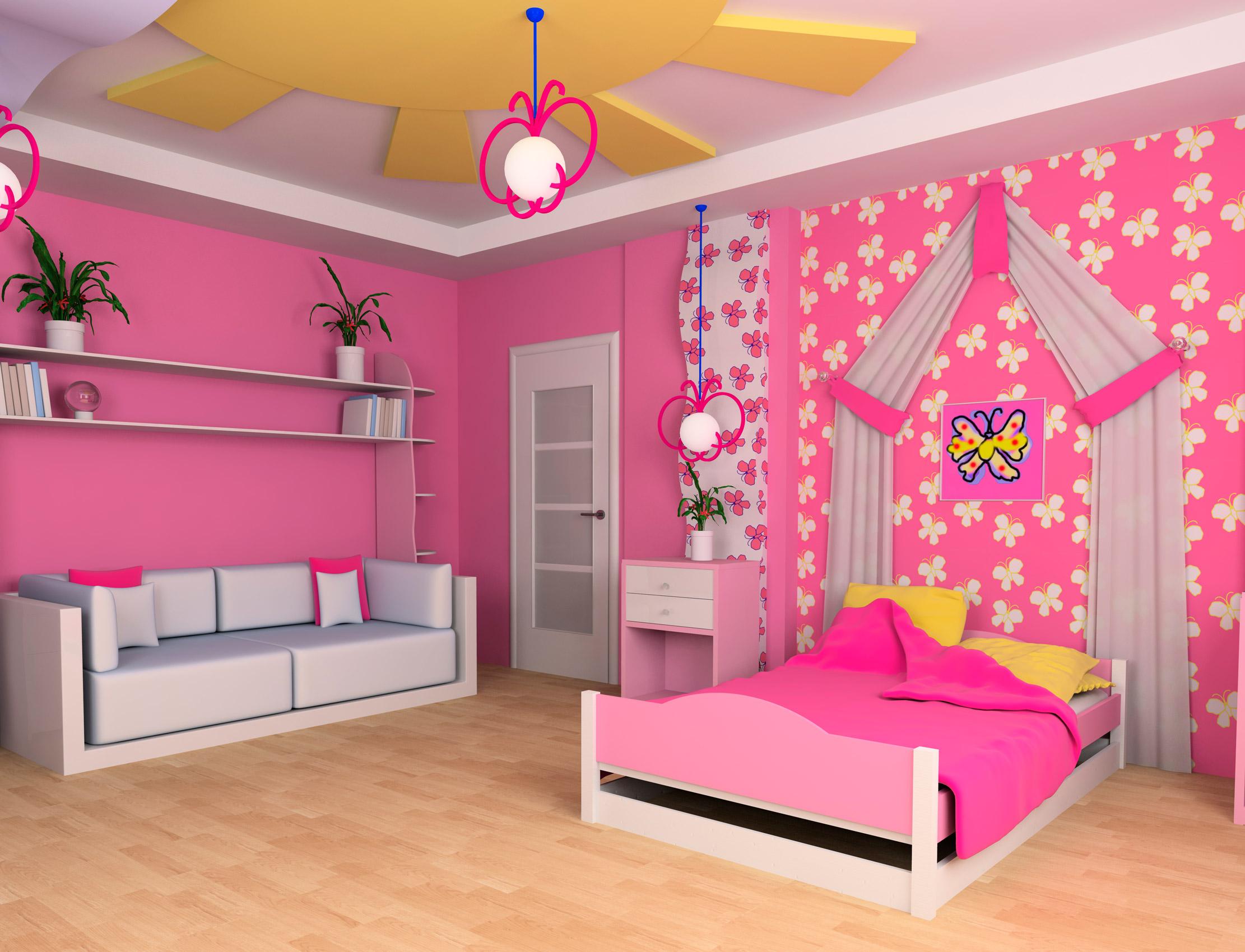 Детские комнаты из гипсокартона своими руками