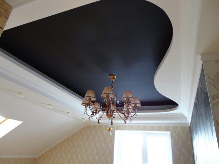 Натяжные потолки - выбор лучших дизайнеров