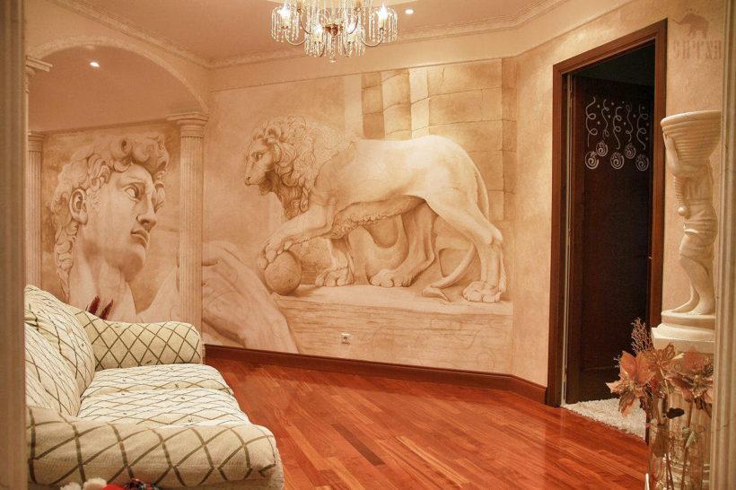 О фресках в интерьере
