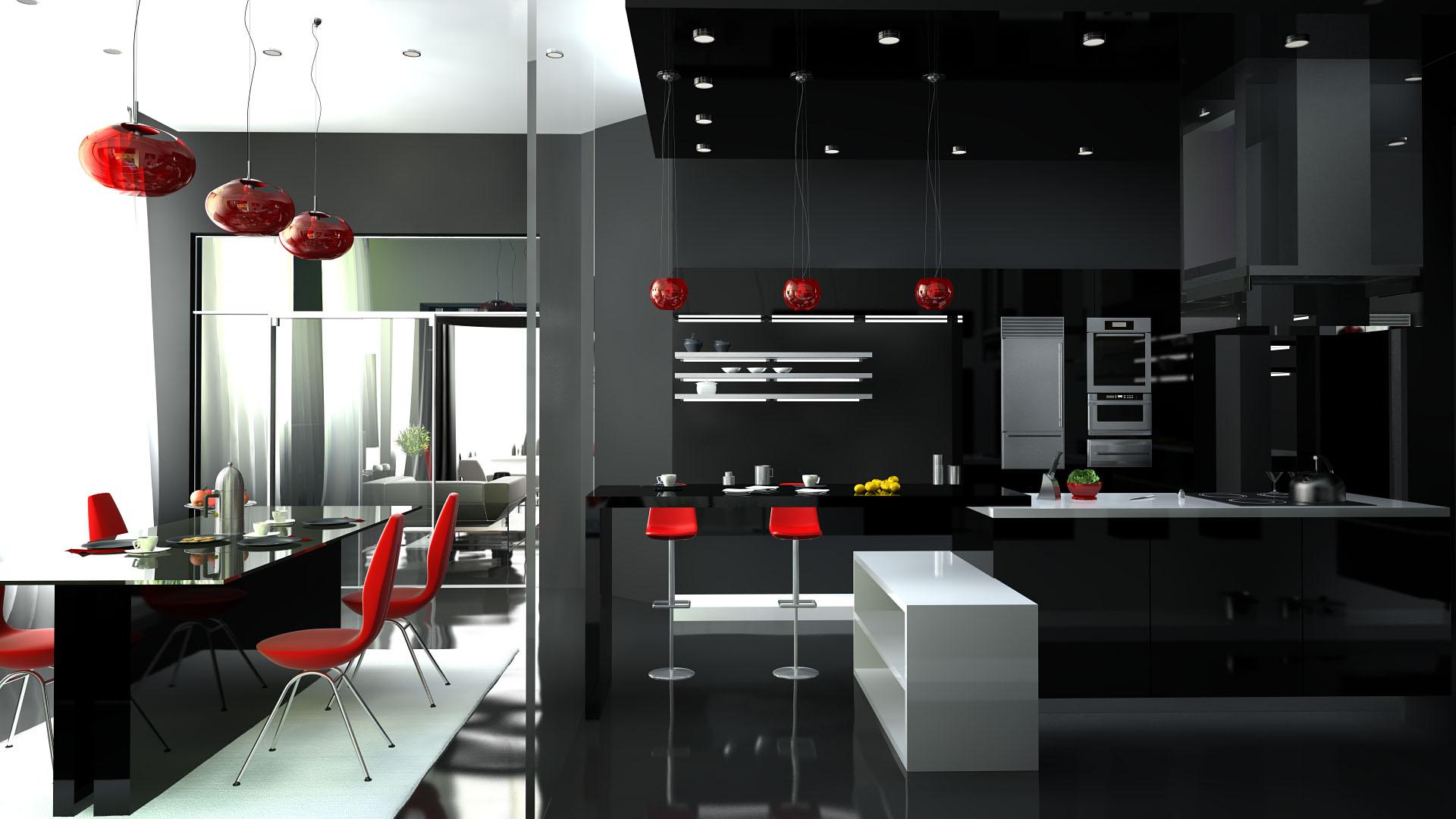 О кухнях в стиле Хай-Тек