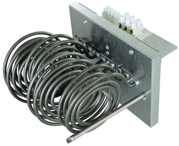 Опциональный электрический нагреватель SHUFT